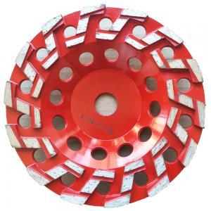 China S Type Segmented Diamond Grinding Cup Wheel Concrete Cup Diamond Wheel supplier