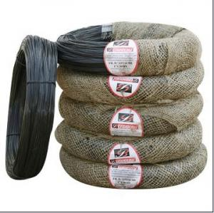 China Soft Black Annealed Wire With Oil Painted Black Annealed Wire on sale