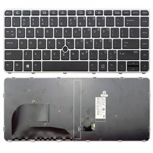 China Original New For HP EliteBook 840 G3 836308-001 821177-001 US Backlit laptop keyboard NSK-CY2BV on sale