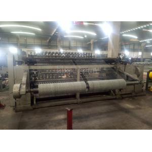 China Galvanized Hexagonal Wire Netting Machine , Steel Wire Mesh Machine Smooth Running on sale