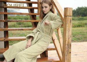 China White Waffle Weave Robe Pakistan Cotton For Hotel Spa 100 Cotton Bathrobe on sale