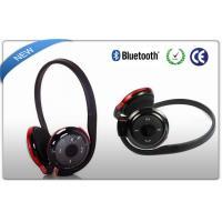 Black Neckband Bluetooth Sport Headphones MP3 Player SD Card Slot
