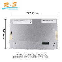 AUO 10.1 inch lcd panal G101EVN01.3 high resolution 1280*800 40 pin lvds industrial lcd screen