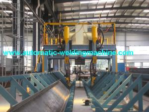 China H beam gantry type submerged arc welding with Lincoln welder on sale