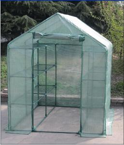 China Polyethylene Square Mini Green House / Garden Flower Houses Grow Tent on sale