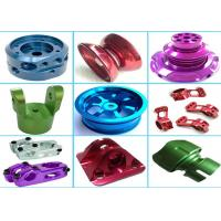 China High Precision Aluminum Machined Parts For Hardware Machinery Various Color on sale