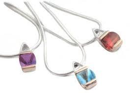 China Cubic Zircon Stone Fashion semi precious stone pendants necklace on sale