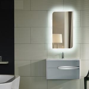 China Glossy mirror with LED lighted source on sale