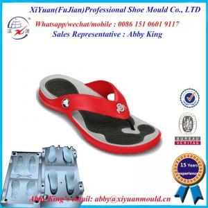China Fashional Eva Injection Beach Sandal Shoe mould, High Quality colorful EVA Shoe mold, on sale