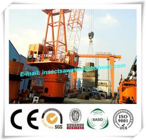China Shipyard H Beam Welding Line Anti Explosion Marine Wire Platform Crane on sale