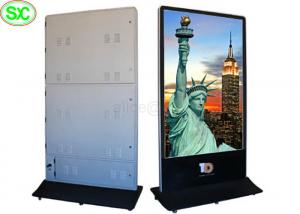 China Protable Flexible Digital LED Poster Display P5 Front Side Service Maintenance Mode on sale