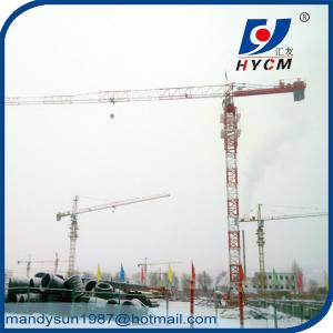 China QTP4810 Topless Tower Crane Wire Rope 1.0ton Tip Load 48m Jib Crane on sale