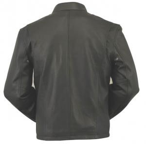 China 2012 mens brown casual leather single face jacket on sale