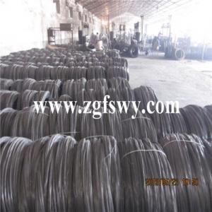 China Suavemente alambre recocido negro del lazo on sale