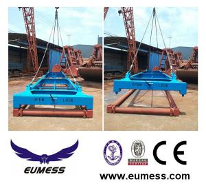 China 40 feet semi-automatic container Lifting spreader frame on sale