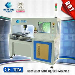 China High efficiency Fiber laser scrbing-cell machine/ fiber soalr cell scribing machine/solar on sale