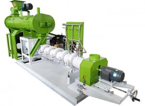 China DSP Wet Type Fish Feed Extruder Floating Fish Feed Pellet Machine Low Noise on sale