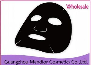 China Black Natural Face Masks Bamboo Charcoal Ingredients Deep Cleansing OEM / ODM on sale