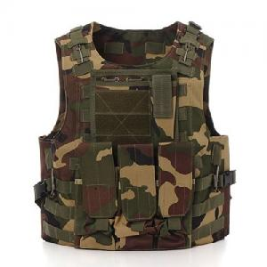China Military Swat Tactical Gear Vest Assault Airsoft For Police Holster on sale