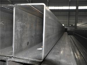 China A36 , A35 , ST37 , ST35 Rectangular High Pressure ERW Steel Tube / Large Diameter Steel Pipe ERW on sale