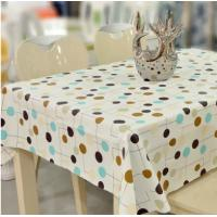 Custom Printed PVC Table Cloth Waterproof For Restaurant