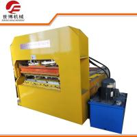 China Hydraulic Arch Curving Sheet Metal Bending Machine / Roof Sheet Roll Forming Machine on sale
