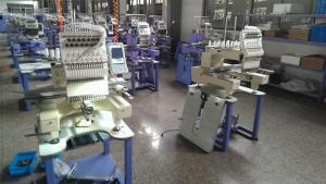 China Multi Functional Single Head Embroidery Machine / Compact Cap Embroidery Machine 1200 RPM on sale