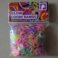 DIY Loom bands glow loom bands