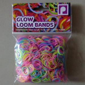 China DIY Loom bands glow loom bands on sale