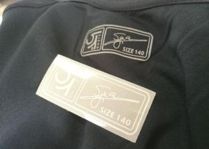 China Forme a diseño 3M la impresión reflexiva de la pantalla de la tinta de las etiquetas de la ropa de la transferencia de calor on sale