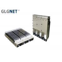 China 1X3 Ganged Metal QSFP28 Cage EMI Tabs Heat Sink For EMI Protection on sale