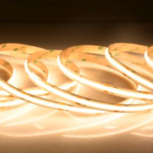 China professional factory manufacture colorful conversion remote control flexible led strip cob 12v light wholesale