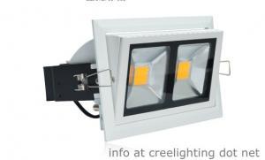 China 38W LED Downlight  80 Lm/W 2pcs COB Epistar 100-240V AC on sale