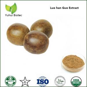 China mogrosides powder,momordica grosvenori fruit p.e,monk fruit extract,monk fruit powder on sale