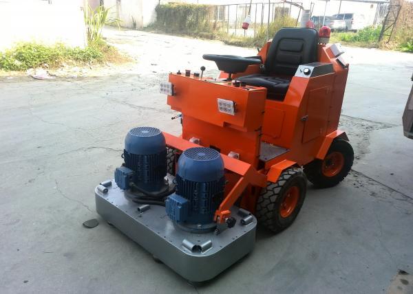 Drive On Powerful Multifunctional Chassis Granite Floor Polishing