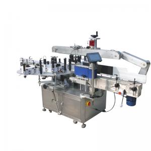 China Round Bottles Double Side Sticker Labelling Machine For Beverage , Food ,Chemical on sale