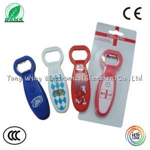 China Crazy Music Bottle Opener for Festival decorative , sound Bottle Opener on sale