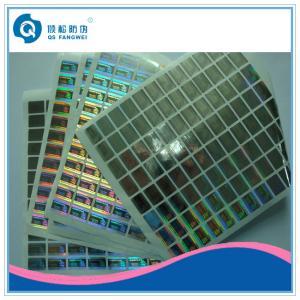 China 3D Anti Tamper Custom Hologram Stickers , Brand / Mark / Price Labels on sale