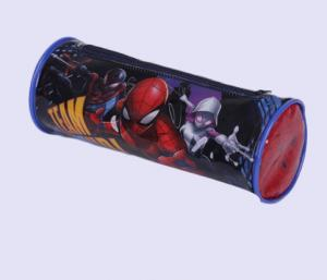 China Cute Round PVC Pencil Case , Customized Full Color Printed Clear Plastic Pencil Bag on sale
