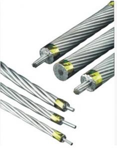 China Eco Friendly Aluminum Conductor Steel Reinforced High Temperature Resistant on sale