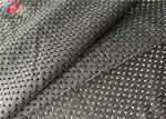 Polyester Fast Dry Net Fabric , Elastic Sports Mesh Fabric For Lining / Jerseys