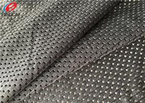 China Polyester Fast Dry Net Fabric , Elastic Sports Mesh Fabric For Lining / Jerseys on sale