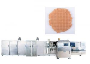 China High Power Ice Cream Maker Industrial Machine With Gas System , Fully Automatically on sale