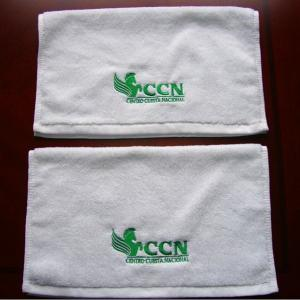 China China Factory Professional Customized 100% Cotton Absorbent Embroidery Towel With Custom Logo on sale