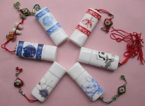China Promotional Gift Ceramic Usb Flash Drive on sale