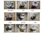 Turbocompressor e jogos de reparação