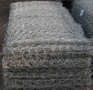 China Galvanized gabion wire on sale