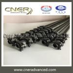 65ft High hardness carbon fiber telescopic pole with 3K glossy surface finish