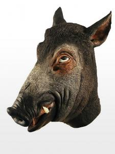 China Youtumall Creepy Animal Latex Wild Boar Head Mask on sale