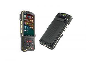 China Logistics Android Barcode Scanners , Cordless Laser Barcode Scanner 2G 5G WIFI 4G Connection on sale